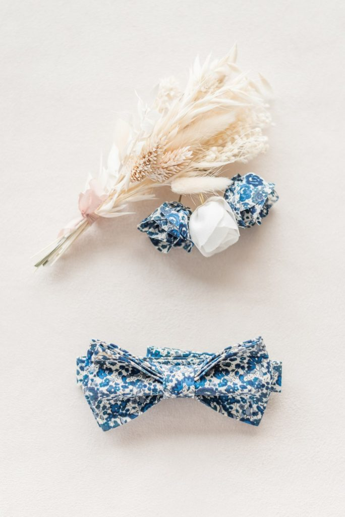 Epingles à chignon fleuries Constance - Alice MARTY Couture florale Collection Liberty