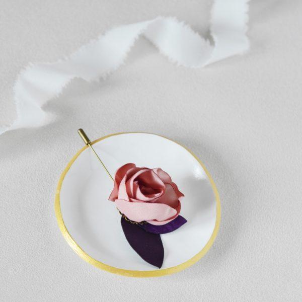 Boutonnière Gabin Alice Marty - Couture florale Accessoires Mariage