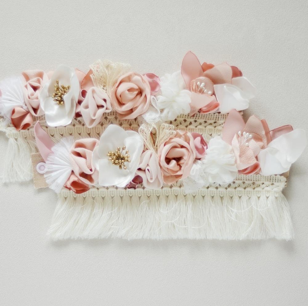 Bracelets cheville Alice Marty - Couture florale Accessoires Mariage