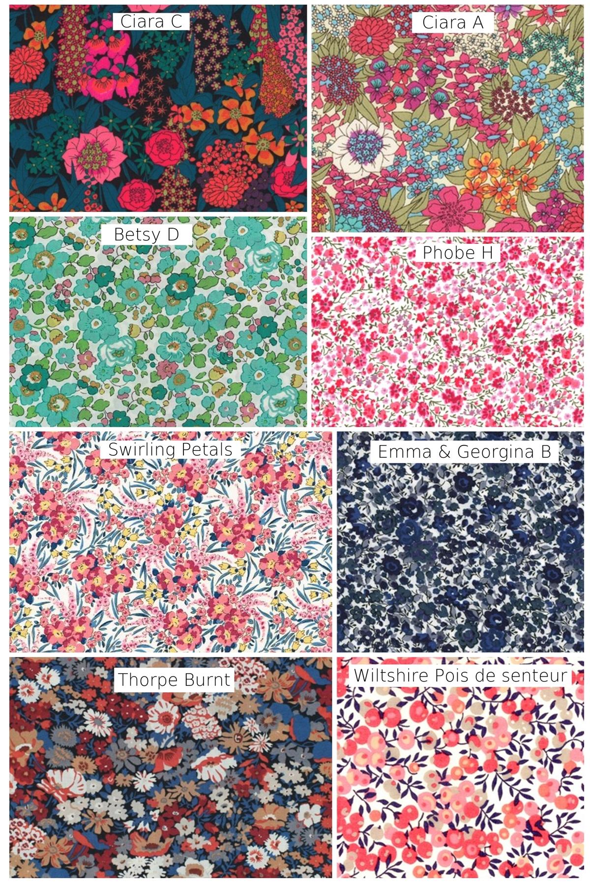 Liberty printemps 2021 Alice MARTY Couture florale Accessoires fleuris Albi Toulouse